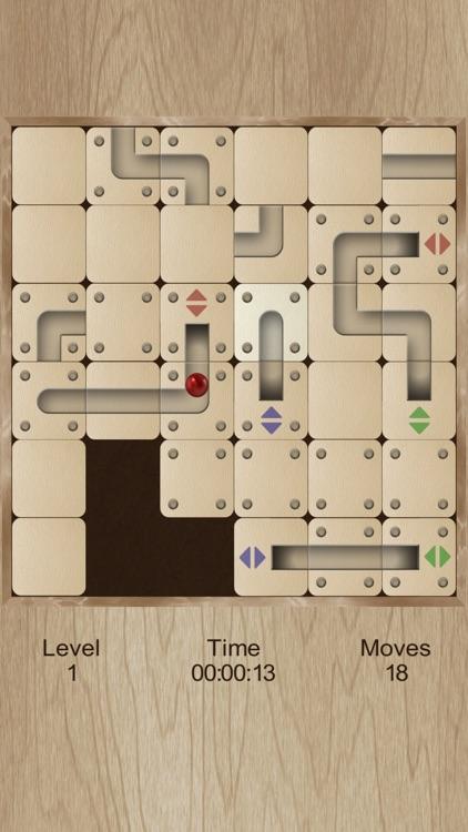Roll the labyrinth portal ball screenshot-4