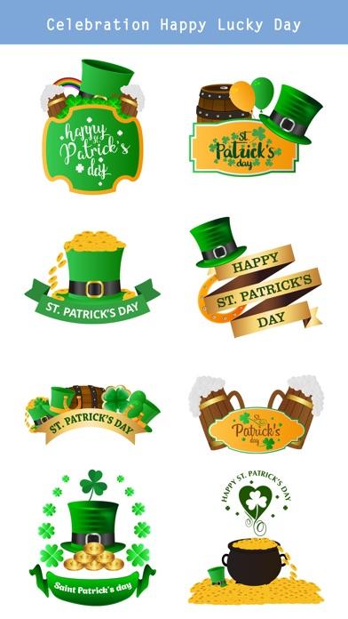 St.Patrick's Day Sticker screenshot 3
