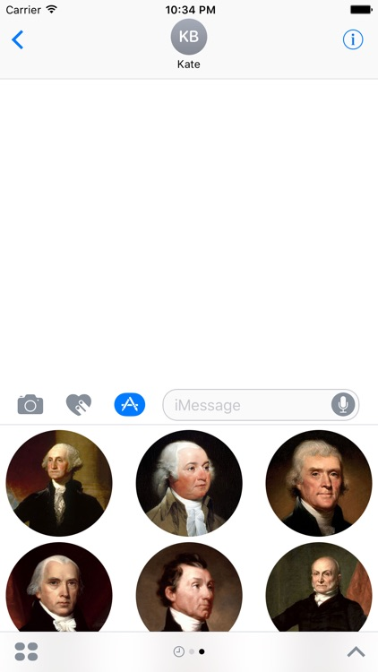 Presidents Stickers