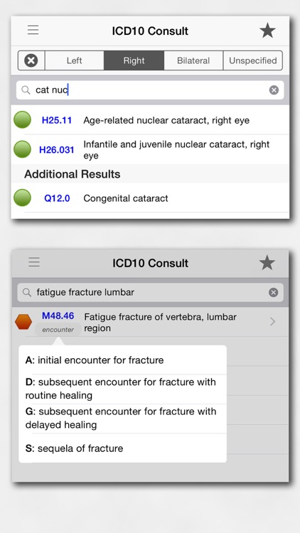 ICD10 Consult