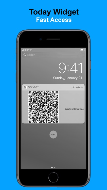 Qidentity - Share my Card screenshot-3