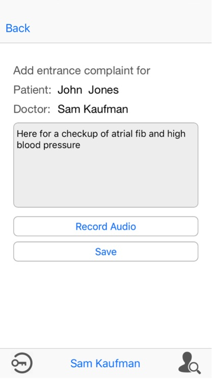 iTreatMD Patient Encounter screenshot-3