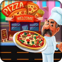 Pizza Maker Shop: Chef Cooking