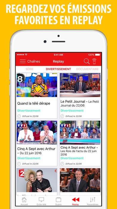 Screenshot #1 pour Télé Poche Guide TV