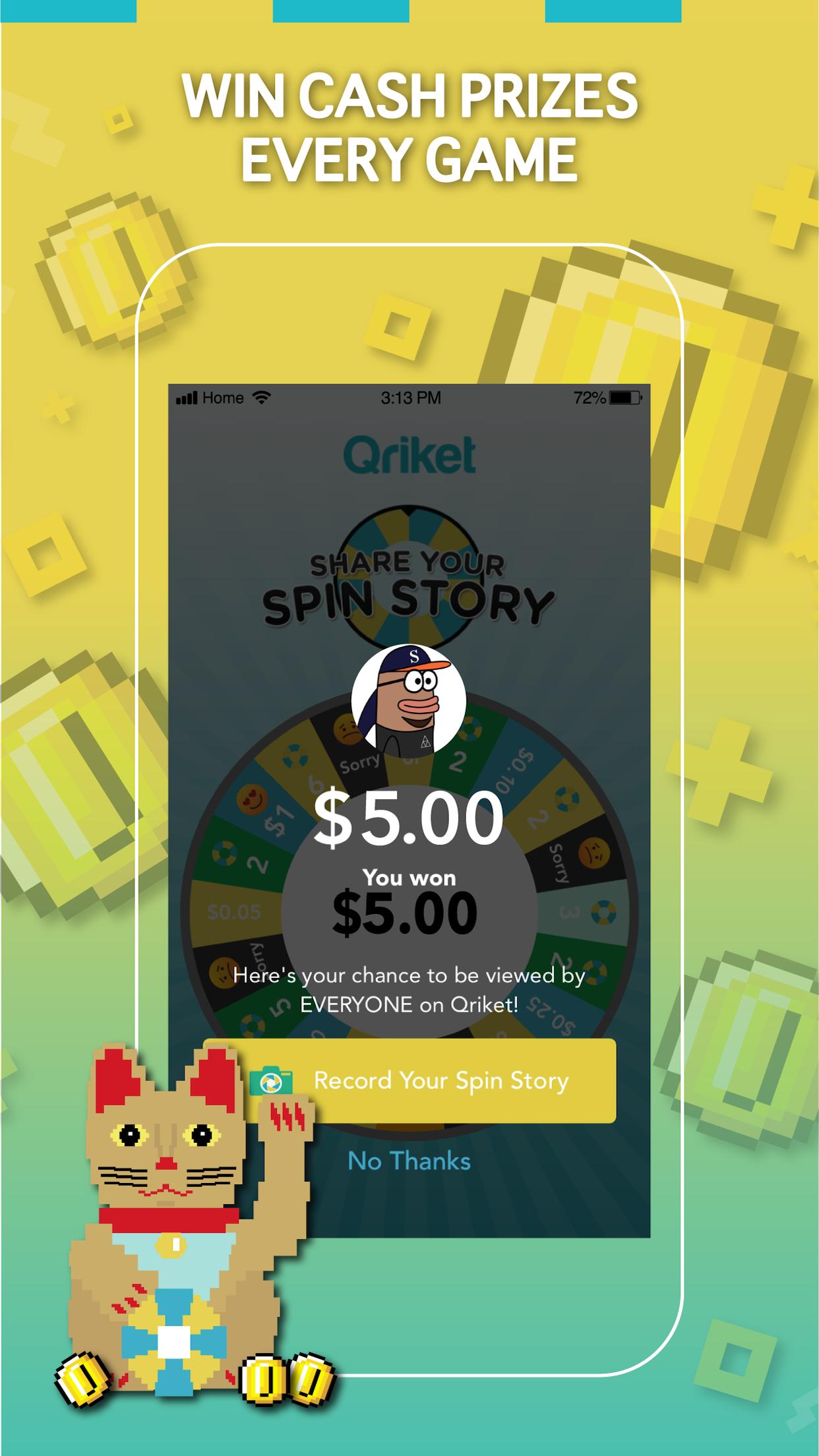 Qriket Screenshot