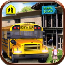 Activities of School Bus Driver 3D 2016
