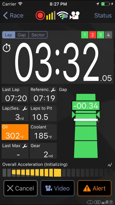 Screenshot for Harry's LapTimer Grand Prix in India App Store