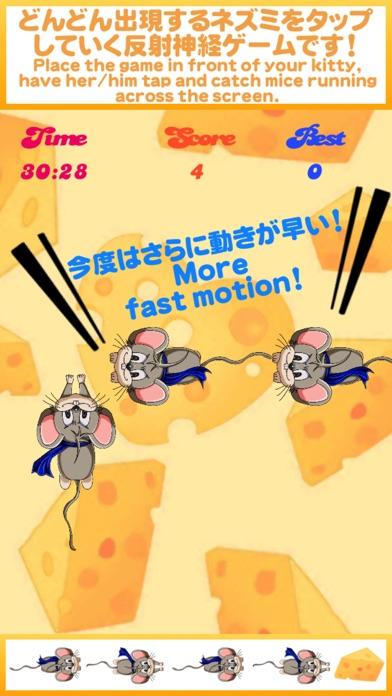 にゃんことあそぼ!2 -ねこでも遊べるネズミタップゲーム-紹介画像2