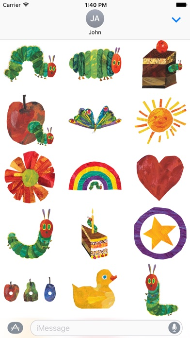 The Very Hungry Caterpillar & Friends Sticker Pack
