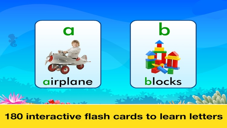 Letter Quiz, Alphabet & ABC Tracing app for kids