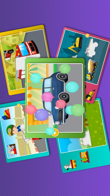 Kids Car Games: Toddlers Boys Learning puzzle Free screenshot-4