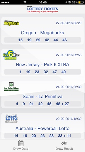 Lottery Tickets - Get Your Lucky Numbers to Work! on the App Store