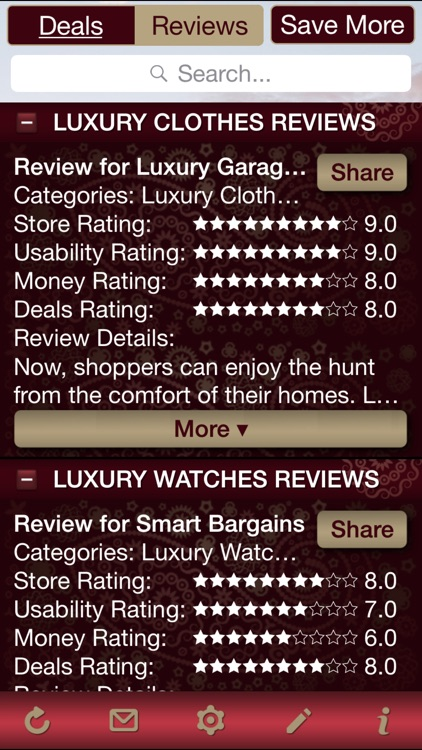 Luxury Deals & Luxury Store Reviews