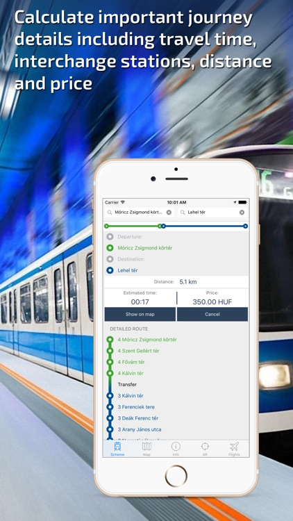 Budapest Metro Guide and Route Planner