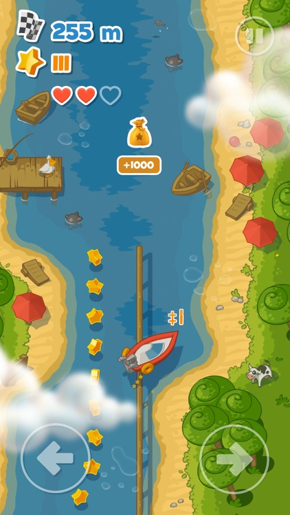 Little Boat River Rush screenshot-1