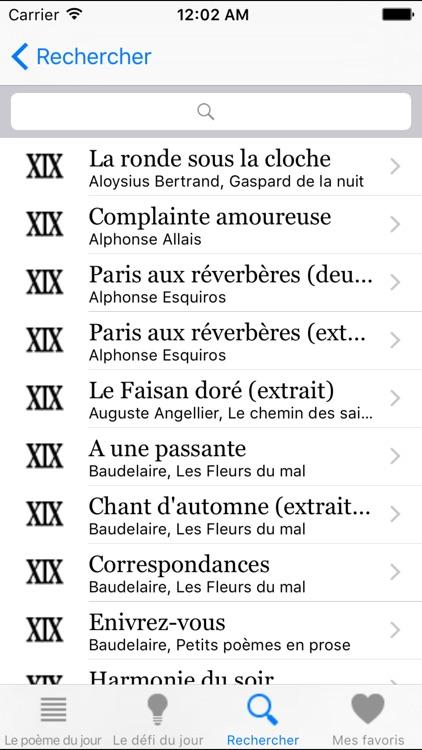 Un Poème Un Jour screenshot-4