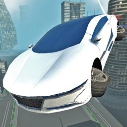 Futuristic Flying Car Driving Simulator Free: Extreme Airplane Flight Pilot