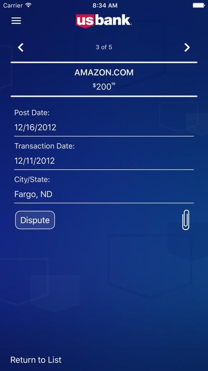 U.S. Bank Access® Online Mobile screenshot-3