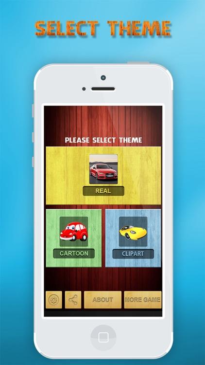 Cars matching pairs games screenshot-3