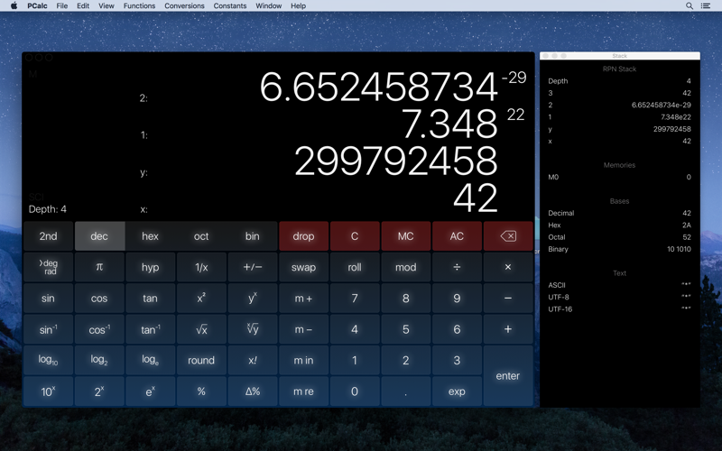 Screenshot #3 for PCalc