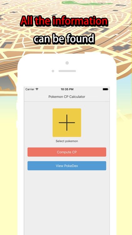 Poke CP Calculator for Pokemon Go  - Choose the Better Pokemon
