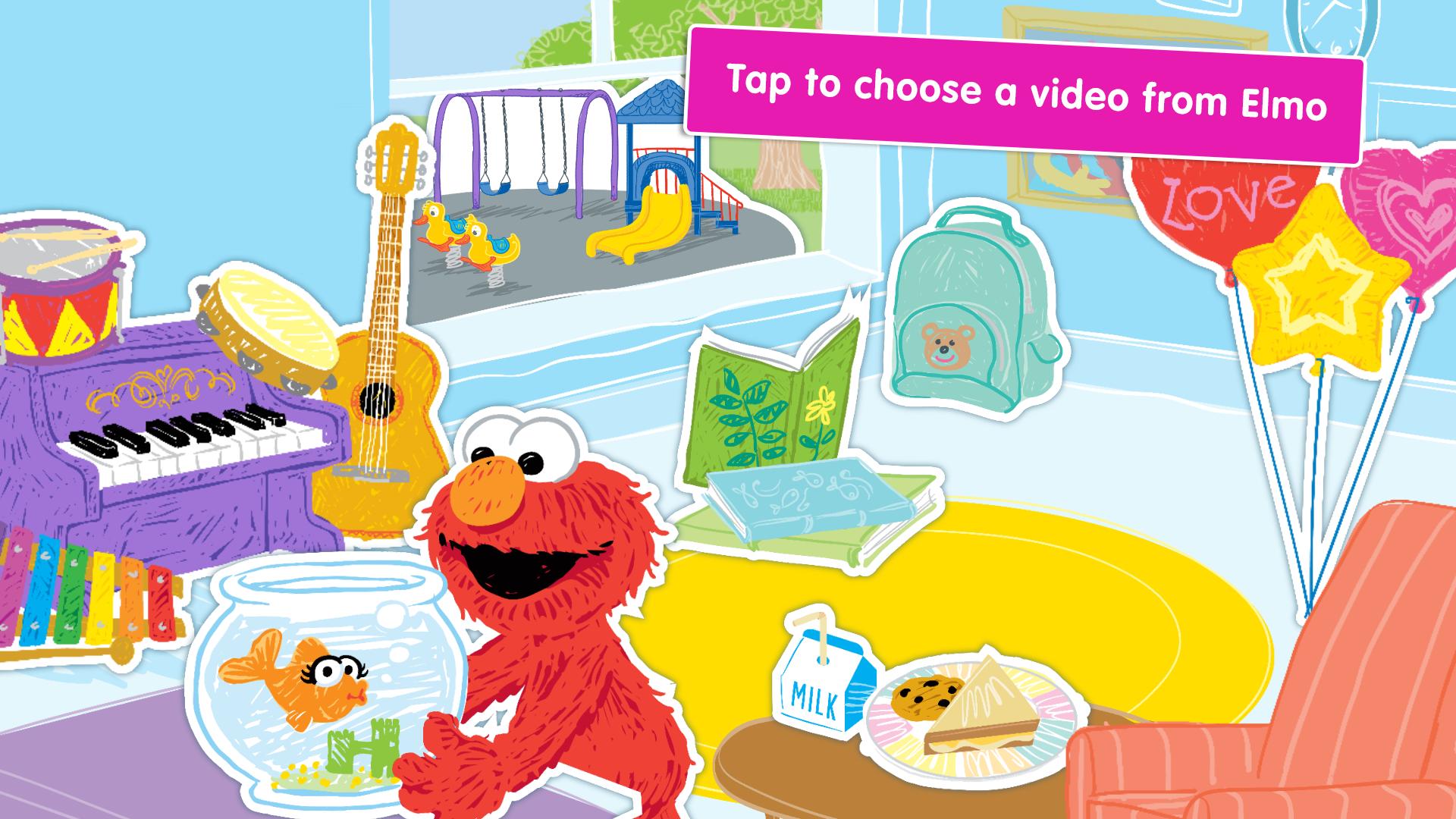 A Busy Day for Elmo: Sesame Street Video Calls screenshot 12
