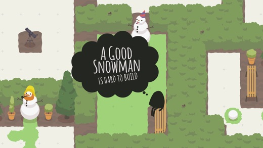 A Good Snowman Is Hard To Build Screenshot
