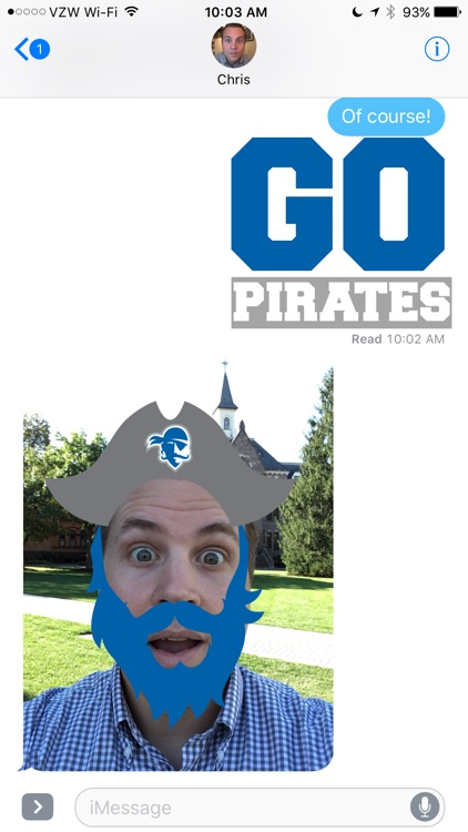 Seton Hall Stickers screenshot-1