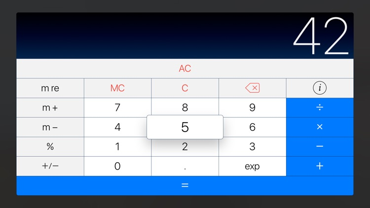 PCalc - The Best Calculator For Your TV