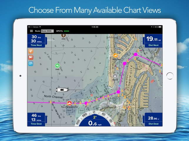 Pro charts marine navigation on the app store sciox Choice Image