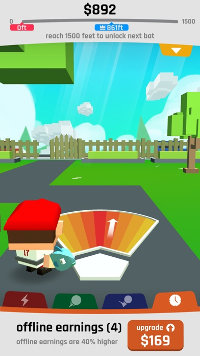 Baseball Boy! Screenshot on iOS