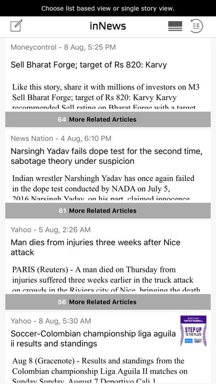 InNews – Daily News Summary at 9