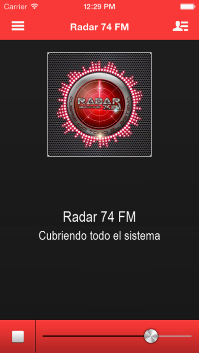 Radar 74 FM screenshot one