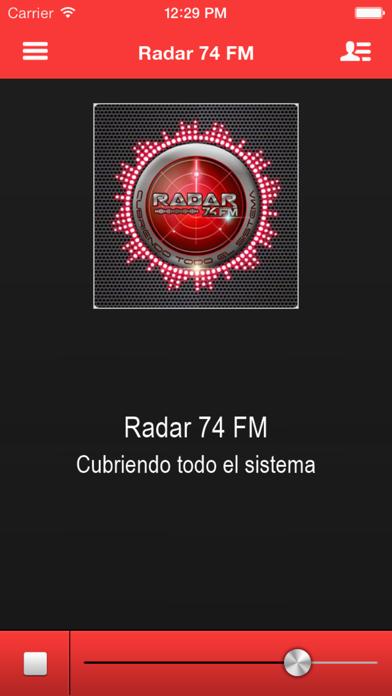 Radar 74 FM screenshot one