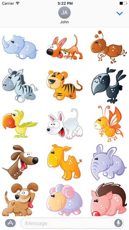 Cute Animals Sticker - DHS Pack 01