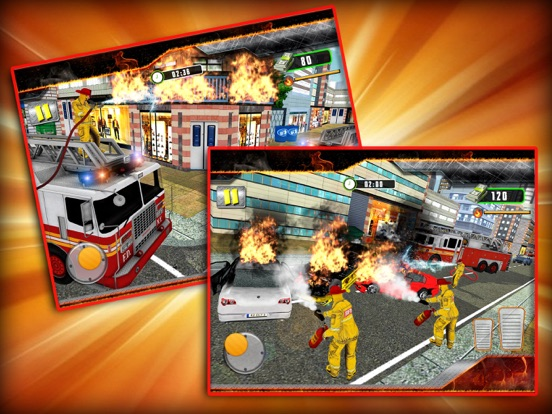 City Firefighting Rescue 3D screenshot #2
