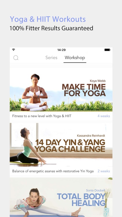Daily Yoga-Workouts & Fitness