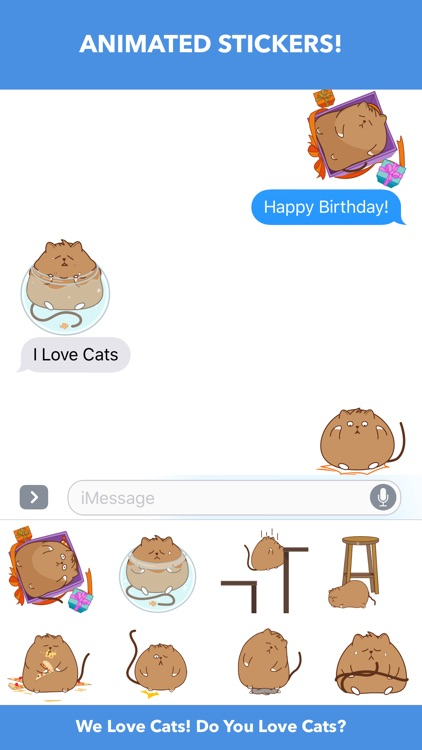 Cat Fail - Animated Stickers