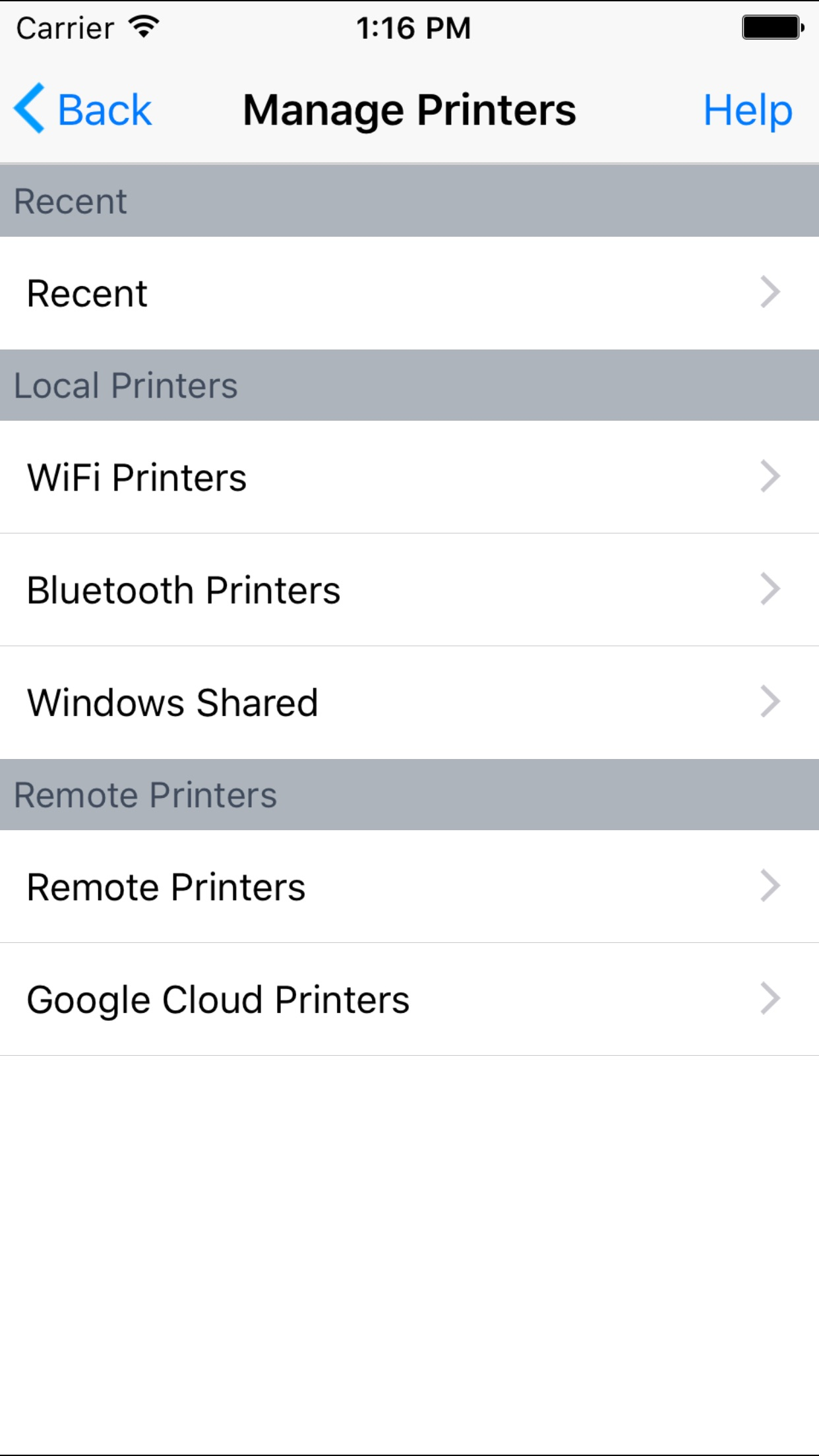 PrinterShare - Printing documents, photos, emails Screenshot