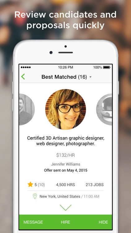 Upwork – Get work done anytime, anywhere