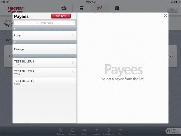 Flagstar Bank for iPad screenshot-4