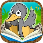 丑小鸭经典童话故事互动游戏(3到9岁宝宝儿童睡前故事有声读物