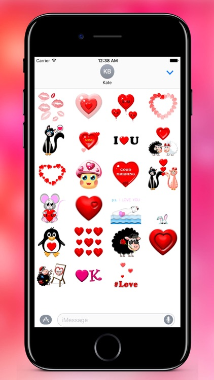 Fall In Love - Stickers