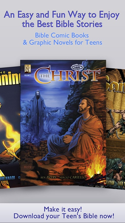 Teen's Bible Christian Comic Books & Graphic Novel screenshot-0