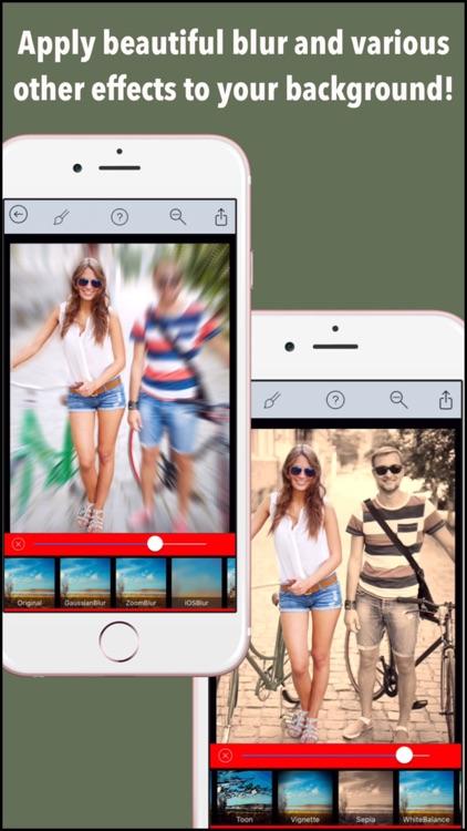 Background Blur Pro - Photo Focus Edit.or for Blur.red BG Effect.s & censor or hide face screenshot-0