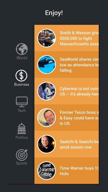 NewsPeek - Top Headlines screenshot-3