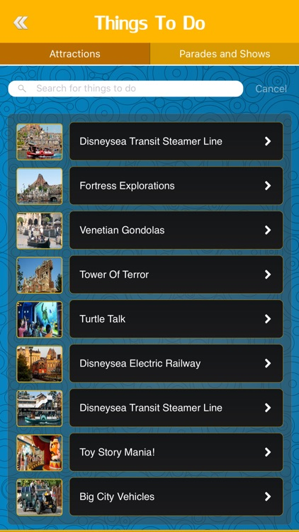 Great App for Tokyo DisneySea screenshot-2