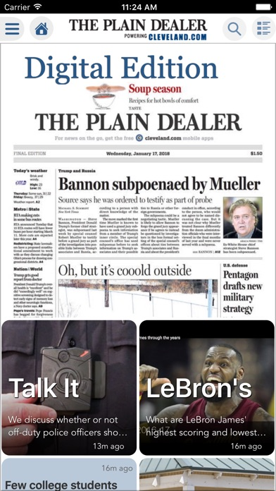 The Plain Dealer review screenshots