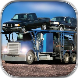 Car Transport Truck Trailer Parking Simulator