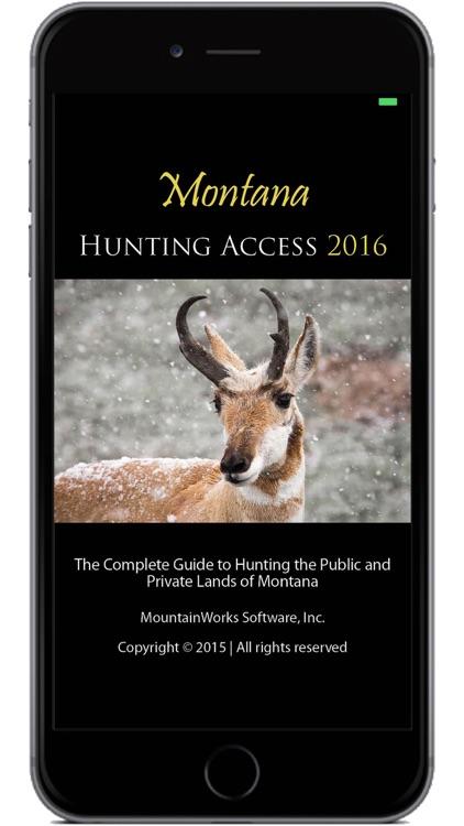 Montana Hunting Access 2016 screenshot-0